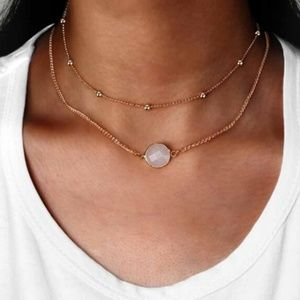 3 for $20 Nora Stone Gem Bead Necklace